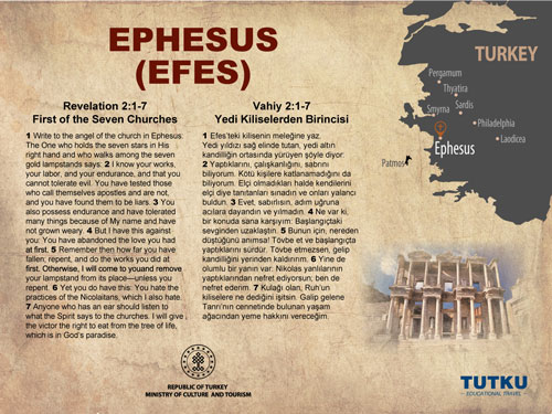 Ephesus Ancient City Map