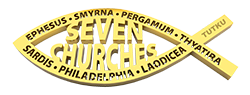 3d Seven Churches logo